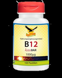 Vitamin B12 Lutsch mit Xylit KauBar, 100 Stk