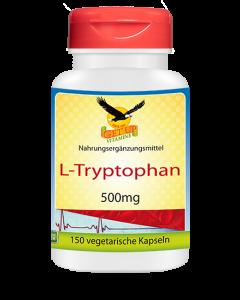 L-Tryptophan, 150 Kapseln x 500mg