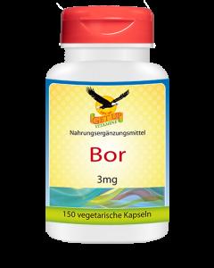 Spurenelement Bor, 150 veg. Kapseln
