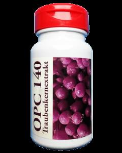 OPC 140 - Exgrape®SEED, 60 Kapseln reines französisches Traubenkernextrakt ohne Zusatzstoffe