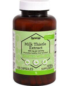 Mariendistel Extrakt 300mg (Milk Thistle), 100 Kaps
