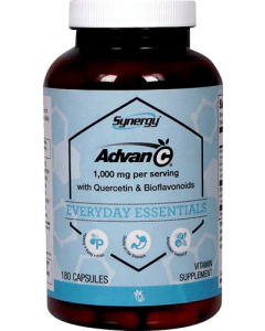 Vitamin C Advan-C® gepuffert mit Quercetin & Citrus Bioflavonoiden je 500 mg, 180 Kaps