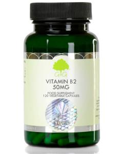 Vitamin B2 Riboflavin 50mg, 120 Kapseln